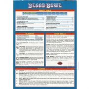 Blood Bowl Quick Reference Sheet Card Bloodbowl